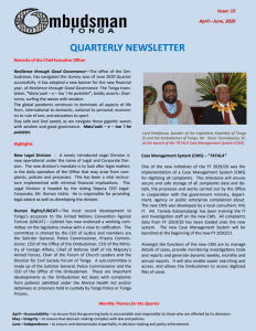 Our Quarterly Newsletter
